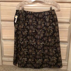 New a-line skirt from Talbots